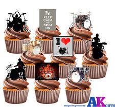 Batterie batterie partie Pack 36 comestibles cup glaçages pour gâteau bande rocker décorations