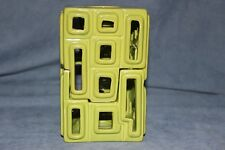 Partylite Green Puzzle Tealight Candle Holder