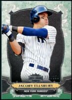 2014 Topps Triple Threads #43 Jacoby Ellsbury /250, NY Yankees, Emerald parallel