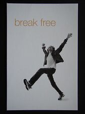 BREAK FREE ORANGE ONE A HOME PHONE & MOBILE IN ONE AVANT CARD #4703 POSTCARD