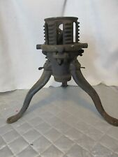 Antique North Bros. Philadelphia, Pa. Cast Iron Christmas Tree Stand Base