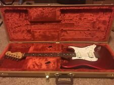 Fender American Standard Double Fat Strat Candy Apple Red