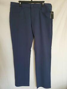 Callaway Golf Pants Men's 38x32 Deep Navy Stretch Classic Fit Pants - NEW $85