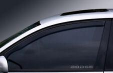 DODGE WINDOW ETCHED GLASS VINYL DECALS-STICKERS X2 – 7YR VINYL -CAR MODIFICATION