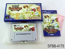 Complete Fire Emblem Thracia 776 Super Famicom Japanese Import SFC US Seller B