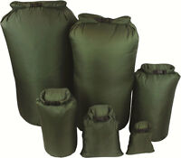New GREEN Military Bergen / Daysack 100% Waterproof DRY BAG Sack Canoe Kayak