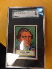 1952 Topps Look 'N' See #17 Patrick Henry Graded 86 SGC 1358977-002