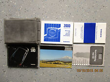 2000 - 00 VOLVO S80 USER OWNER MANUAL HANDBOOK GUIDE INFORMATION BOOK