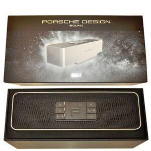 BNIB Porsche Design Gravity One SP3900GA Silver/Black Premium Bluetooth Speaker