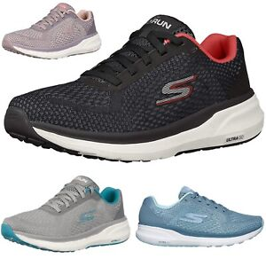 WOMENS SKETCHERS GO RUN PURE WALKING WORK LACE UP GYM SPORTS TRAINER SHOES SIZE