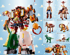 Toy Story Chogokin Diecast 5pack Combination Woody Robo Sheriff Star 23 Cm
