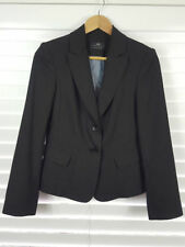 Cue Viscose Regular Size Striped Coats & Jackets for Women