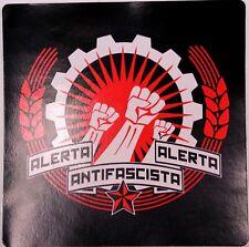 ALERTA ALERTA  ANTIFASCISTA PVC AUFKLEBER (MBRPVC026)