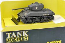 TANK MUSEUM VEREM SOLIDO 1/50 CHAR TANK SHERMAN M4 A3 76 INDIANA #VSM60