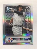 2020 Bowman Chrome Jasson Dominguez Spanning The Globe Insert #STG-JD Yankees