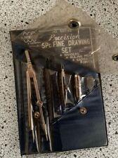 New listing Globemaster vintage precision 5 pc drawing set no. 59183 never used