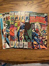 New ListingVintage Bronze Age Marvel Comics 8 Books Black Panther Eternals Spiderman 1970's