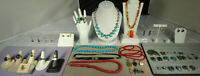 FINE Southwest JEWELRY LOT 46pcs STERLING/GEM Taxco Navajo Zuni Pawn New NICE!