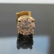 Brand New Mens 1/4ct Diamond Single 9ct Gold Stud Earring £164. 99 Freepost