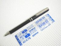 NEW ! 1 X Black ZEBRA BA55 mini/EXPANDZ 0.7mm ball point pen free refill