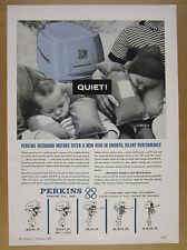 1963 Perkins Outboard Motors 5 Models illustrated vintage print Ad