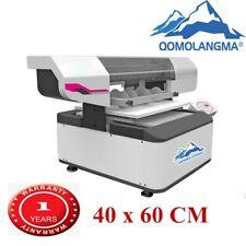 40 X 60cm Digital White Ink And Color Ink Cylinder Printing Flatbed Uv Printer