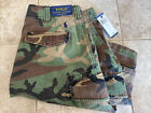 🇺🇸NEW RALPH LAUREN POLO CAMO / CAMOUFLAGE CARGO SHORTS NWT Size 32 Mens🇺🇸🔥