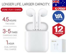Wireless Bluetooth Earphones air buds Aipods FOR Apple iPhone & Galaxy Android