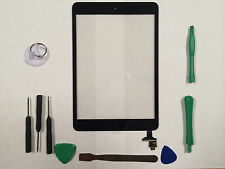 Front Panel Touch Screen Glass Digitizer for iPad Mini 2 2nd Gen IC Chip Black