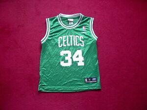 Boston Celtics Basketball shirt/Top/Jersey/Vest/Pierce 34/boys medium 10-12 year