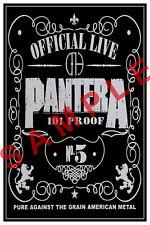 PANTERA 12x18 POSTER DIME PHIL VINNIE OFFICIAL LIVE 101 PROOF CONCERT TOUR BAND