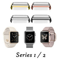 For Apple Watch Series 1/2 38/42mm Snap On Full Body Cover Case+Screen Protector