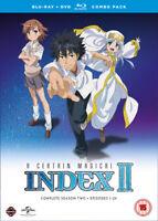 A Certain Magical Index: Complete Season 2 Blu-Ray (2017) Masanao Akahoshi,