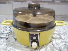 VTG TOASTMASTER AUTOMATIC ELECTRIC EGG COOKER POACHER 6501 USA NICE!