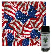 Hydrographic Film Water Transfer Hydro Dipping Activator Amp American Flag 2 Kit