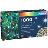 Eveready1000 LED Ultra Bright Chaser Christmas Lights Indoor/Outdoor Decoration