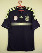 Spain team jersey shirt 2013/2015 Away official adidas soccer football size M