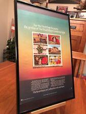 """2 Big 11X17 Framed The Beach Boys """"L.A. (Light Album)"""" Lp Album Cd Promo Ads"""
