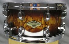 Tama Starclassic Walnut/Birch 6 1/2 x 14 Snare Drum Molten Brown Burst