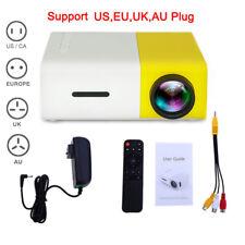 Mini Pocket YG300 3D Projector LED Home Theater Cinema HD 1080p USB HDMI UK