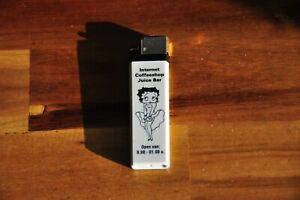 Betty Boop Amsterdam Internet Coffeeshop Juice Bar Lighter Empty