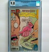 Beavis and Butt-Head # 1 CGC 9.8 ~ White Pages ~ new MTV series coming 1994