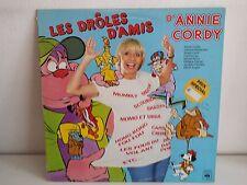 ANNIE CORDY Les droles d amis CBS 84569 BO TV DESSIN ANIMES