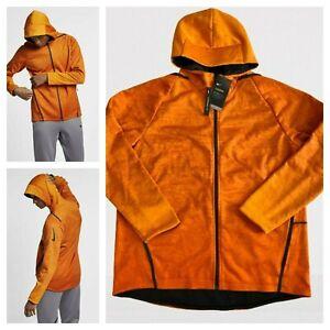 Msrp $195 Nike Men's Sz XL Therma Sphere Burnt Orange Hooded Training Jacket