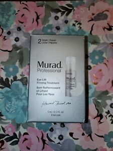 Murad Professional Eye Lift Firming Treatment 5ml 0.17oz 8 Pads Travel Size