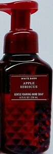 BATH & BODY WORKS WHITE BARN APPLE HIBISCUS GENTLE FOAMING HAND SOAP 8.75oz