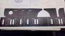 like NOS 1968 Buick Riviera complete dash set applique decal .