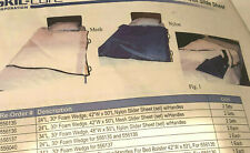 """SKIL-CARE 30 DEGREE BED BOLSTER SYSTEM W/24"""" WEDGE AND 50x42 MESH SLIDER SHEET"""