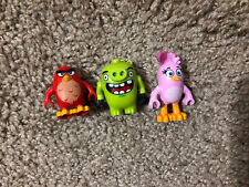 LEGO Lot Of 3 ANGRY Bird  Minifigures Mini Figure Characters Toys