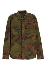 Vans Hillcrest Fleece Men's Shirt Jacket Camo